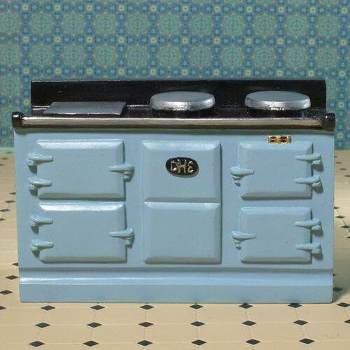 Light Blue Aga-Style Oven 8096