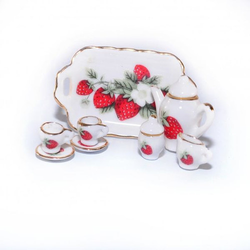 Strawberry Teaset D2099