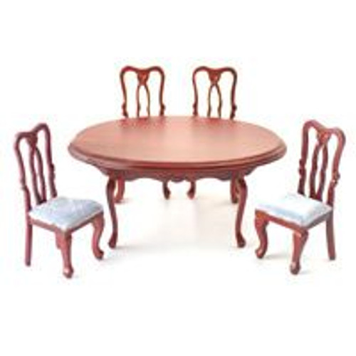 Oval Dining Table & 4 Chairs DF103