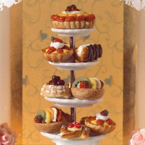 Selection of Deluxe Cakes & Pastries 6094