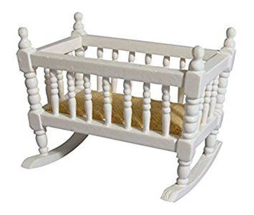 Small Crib, Cot White DF287WH
