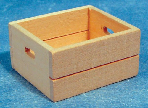 Wooden Crate D496