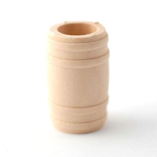 Small Wooden Barrel D1274