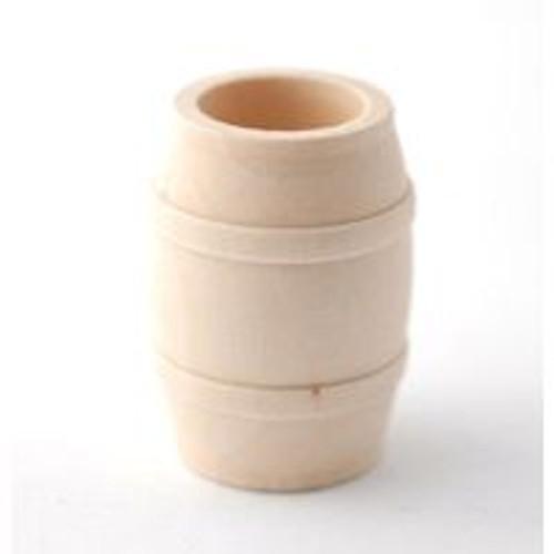 Medium Wooden Barrel D1273