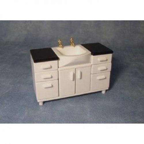 White Sink Unit DF1525