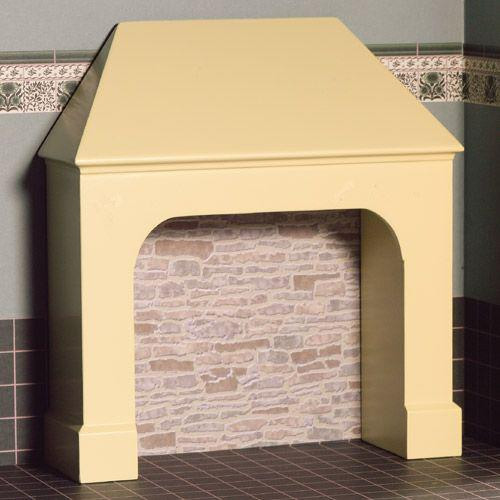 Stone/cream coloured stove/fire surround 4024