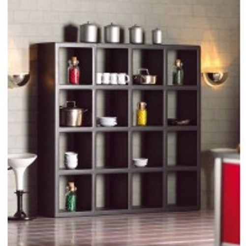 Black Large Display Shelves 4934