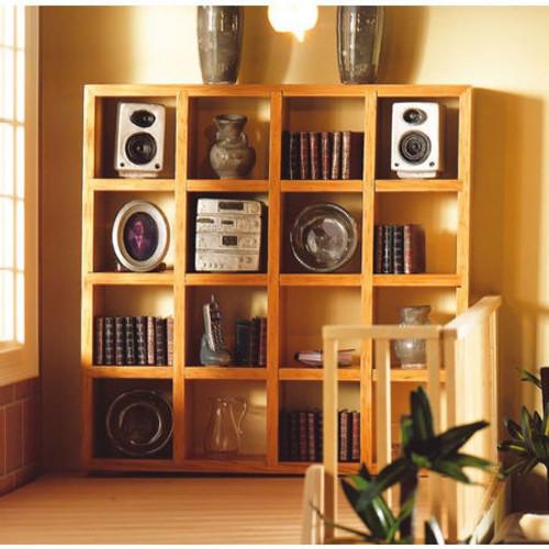 Light Wood Large Display Shelves 4935