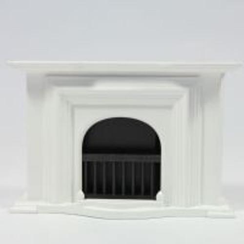 White Georgian Fireplace 2155