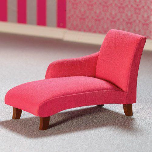 Shocking Pink Chaise Longue 7232