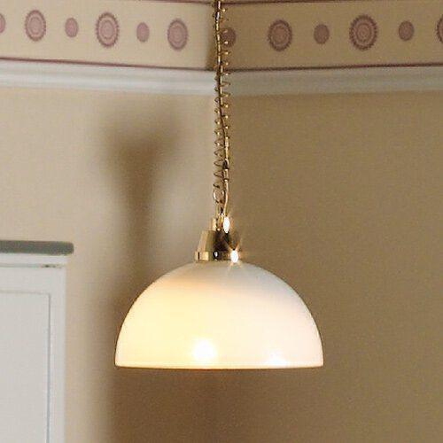 Rise & Fall Domed Ceiling Light 6053