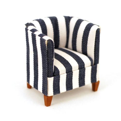 Stripe Modern Tub Chair 2496