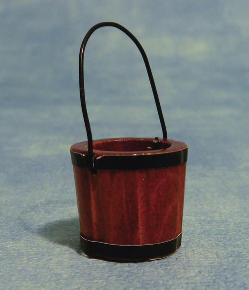 Wooden Pail, Bucket D1250