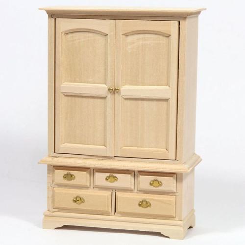 Barewood Blanket Cupboard, Wardrobe BEF112