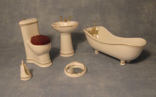 Elegant Savoy Bathroom Set 4447