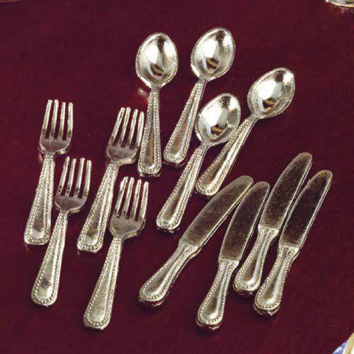 Silver Cutlery Set of 12 Pcs 5509