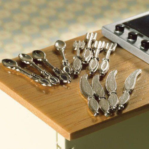 Silver Cutlery Set of 12 Pcs 4093
