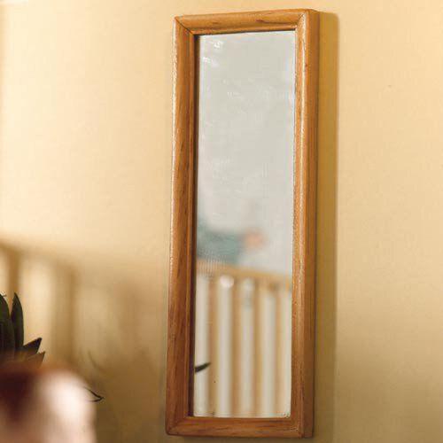Light Wood Dressing Mirror 4918