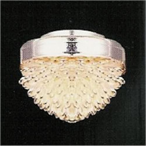 Silver, Glass Ceiling Light DE081