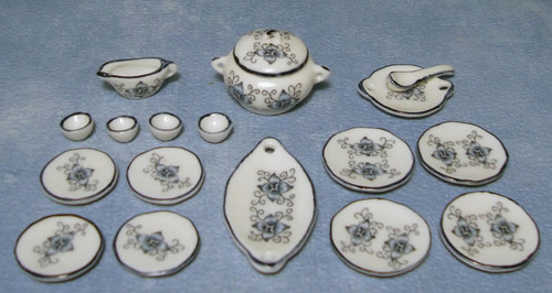 Lotus Dinner Set 18 Pcs D1724