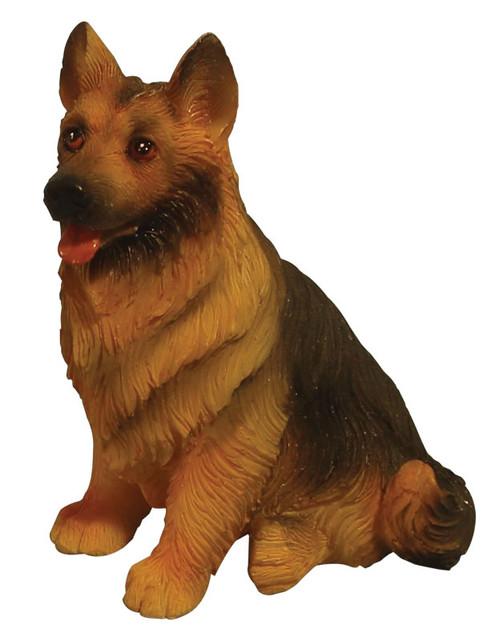 Sitting German Shepherd Dog DA001