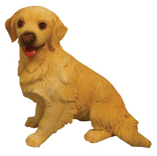 Sitting Golden Retriever Dog DA002