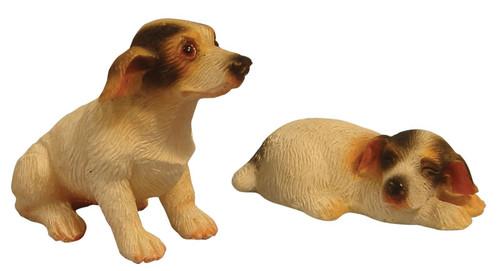 Pair of Jack Russells Dogs DA009