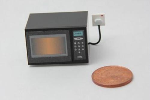Black Microwave Oven H40BLA