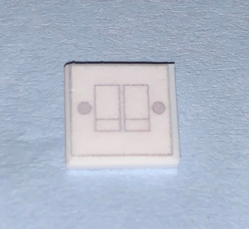 Double Light Switch M217