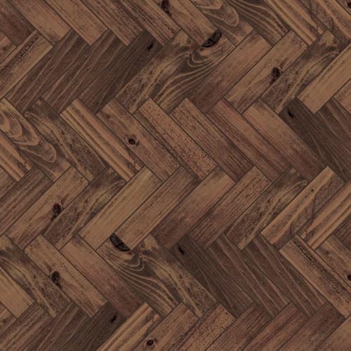 A3 Dark Parquet Flooring Card DIY757B