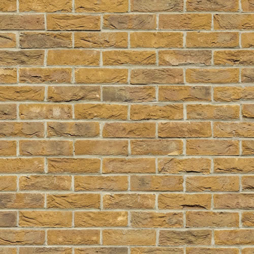 A3 Embossed Yellow Brick Stretcher Bond DIY759C