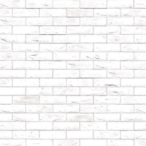 A3 White Brick Stretcher Bond DIY793A