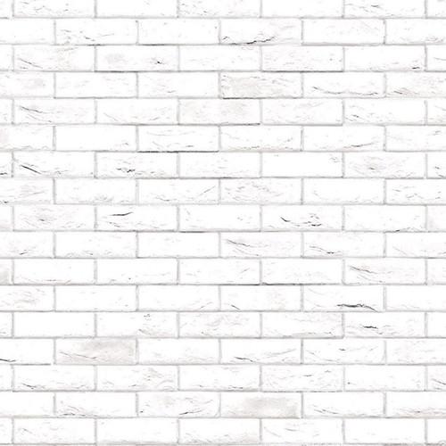 A3 Embossed White Brick Stretcher Bond DIY794A