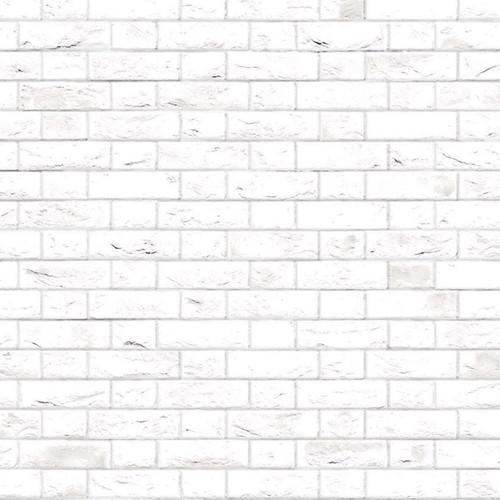 A3 Embossed White Brick Flemish Bond DIY796A