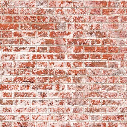 A3 Embossed Weathered White Brick Flemish Bond DIY796B