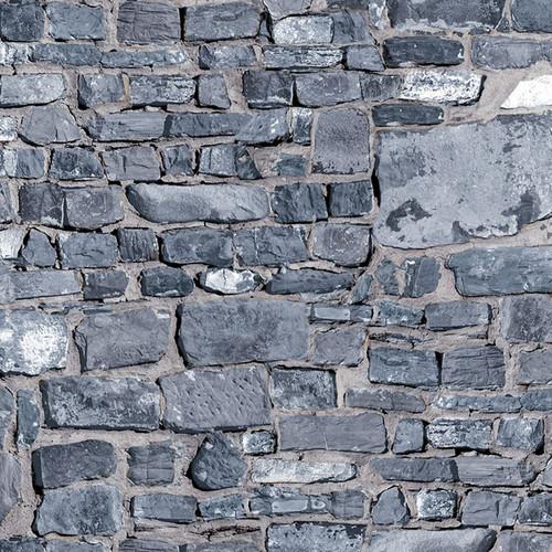A3 Grey Stone Brick Wall DIY797A