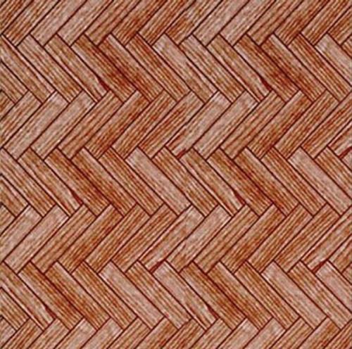 A3 Dark Parquet Flooring Paper WP529
