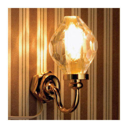Crystal Globe Wall Light 6055