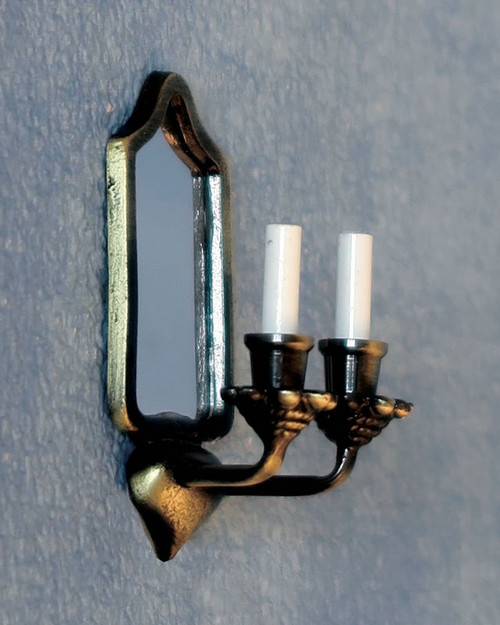 Mirrored Candle Wall Light DE273