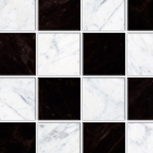 A3 Embossed Black & White Wall or Floor Tiles DIY780