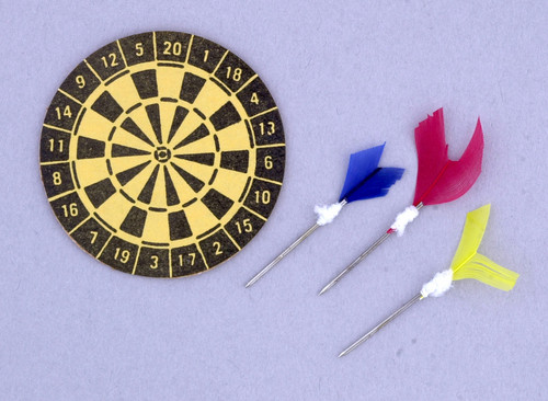 Dart Board with Darts MA2027