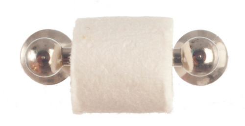 Chrome Toilet Roll and Holder S3804N