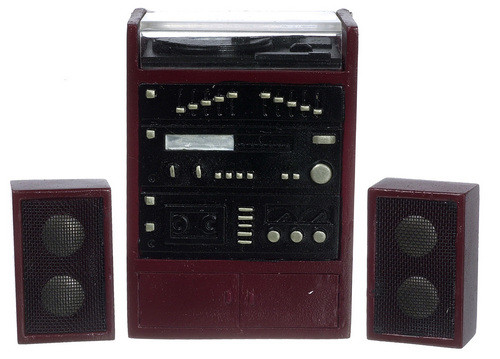 Stereo System with Speakers Set T3258