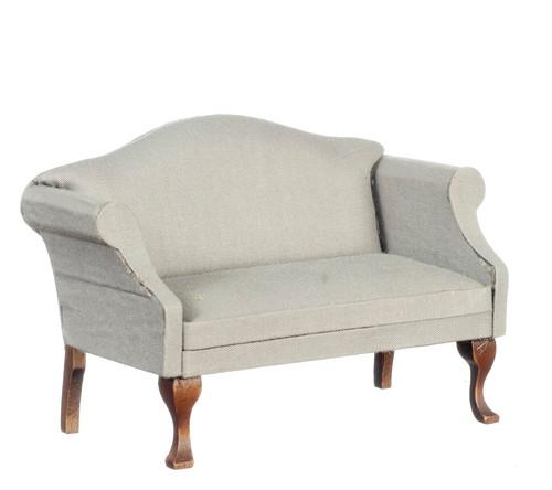 Grey & Walnut Sofa, Settee CL10992