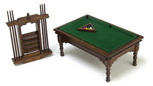 Pool Table Set Walnut T6676