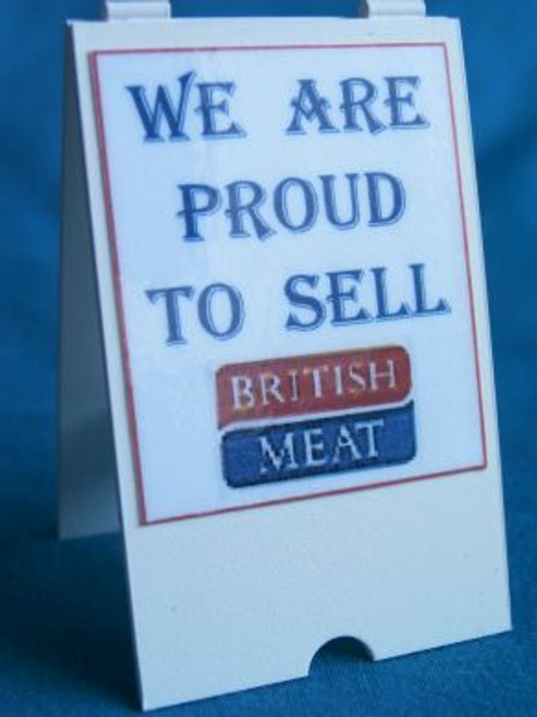 Butchers Quality British Meat 'A' Board S79