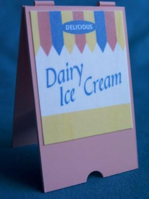 Dairy Ice Cream 'A' Board S80