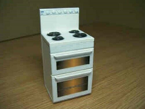 White Electric Cooker with Coil Hob DA4