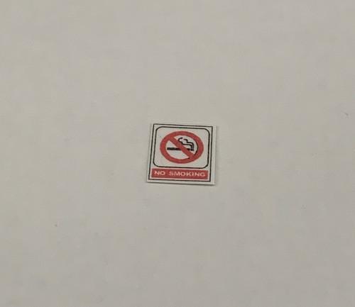 No Smoking Sign M176