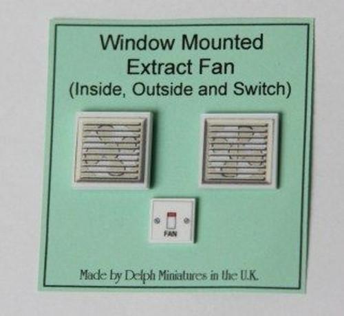 Window Mounted Extractor Fan Set M213